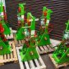 "6 off Refurbished HPH 3800 5.1/2"" x 12"" Self Locking Maual Override Frame"